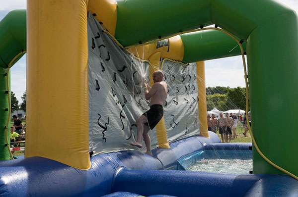 Waterglijbaan 'Showerbaan' huren