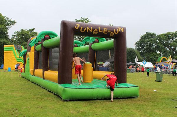 Stormbaan 'Jungle Run' huren