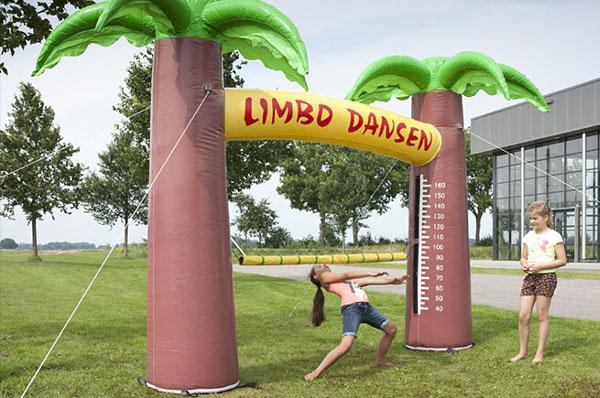 Zeskamp spel 'Limbo Dansen' huren