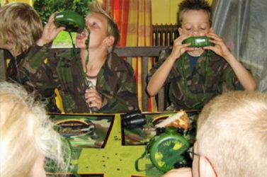 soldaten-feestje