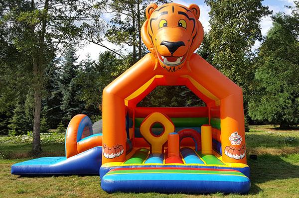 Springkussen 'Tiger Slide' huren