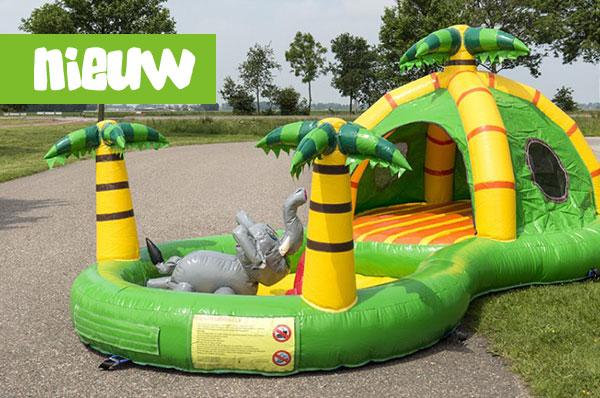 Springkussen 'Playzone Jungle' huren