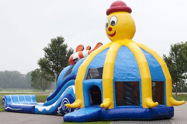 Waterglijbaan 'Octopuszwembad' huren