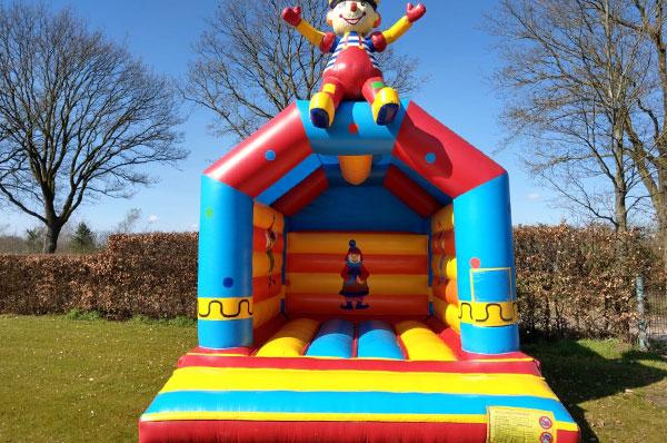 Springkussen 'Bouncer Clown' huren