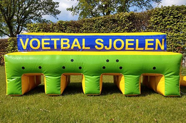 Sport spel 'Voetbal Sjoelen' huren