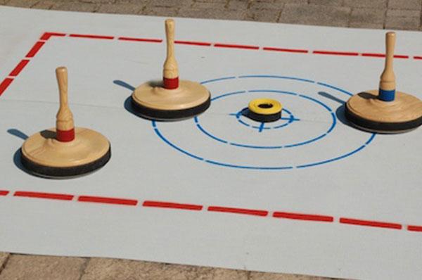 Sport spel 'Curling Baan' huren